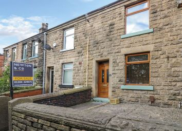 Thumbnail 2 bed terraced house for sale in Turton Road, Bradshaw, Bolton