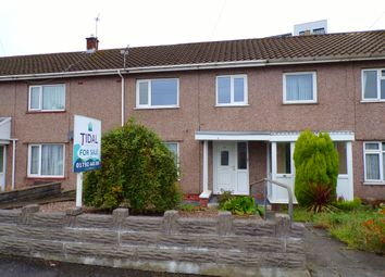 Thumbnail 3 bed terraced house for sale in Heather Crescent, Sketty, Swansea