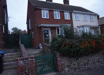 Thumbnail 3 bedroom semi-detached house for sale in Invicta Road, Margate