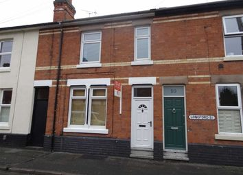 Thumbnail 3 bed terraced house to rent in Longford Street, Derby