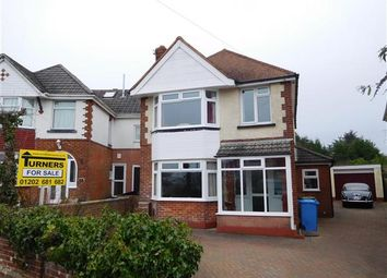 Thumbnail 4 bedroom detached house for sale in Woodlands Avenue, Hamworthy, Poole