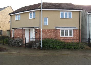 Thumbnail 3 bedroom detached house to rent in Fox Brook, St. Neots