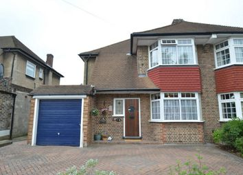 Thumbnail 3 bed semi-detached house for sale in Eversley Way, Shirley, Croydon, Surrey