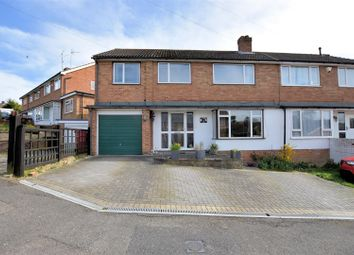 Thumbnail 5 bed semi-detached house for sale in Elmstone Drive, Tilehurst, Reading