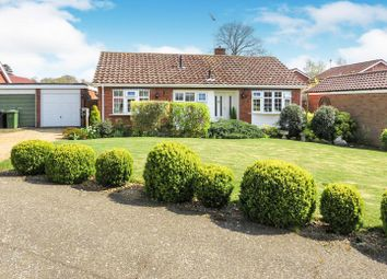 Thumbnail 3 bedroom detached bungalow for sale in St Marys Close, Heacham, King's Lynn