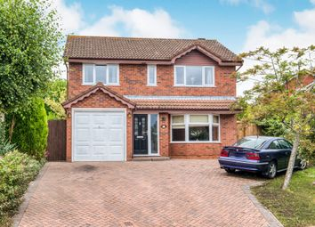 Thumbnail 4 bed detached house for sale in Didcot Close, Hunt End, Redditch
