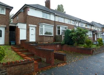 Thumbnail 2 bedroom end terrace house to rent in Old Oscott Lane, Great Barr, Birmingham