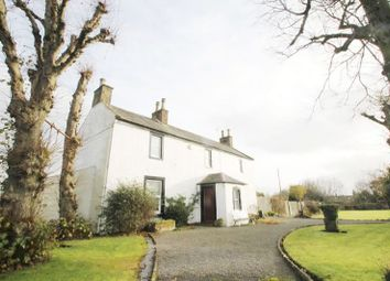 Thumbnail 4 bed detached house for sale in Broomhouses Dryfe Road, Lockerbie Dumfriesshire DG112Rf