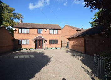 Thumbnail 4 bed detached house for sale in Gorse Lane, Oadby, Leicester