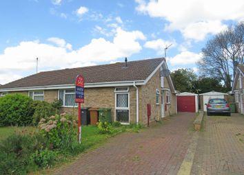 Thumbnail 3 bedroom semi-detached bungalow for sale in Blenheim Road, Wellingborough
