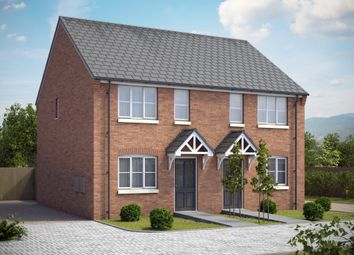 Thumbnail 2 bed semi-detached house for sale in Beacon Road, Loughborough