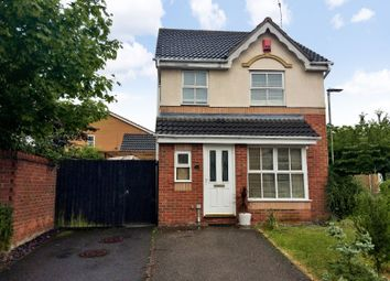 Thumbnail 3 bed detached house for sale in Haskell Close, Thorpe Astley, Leicester