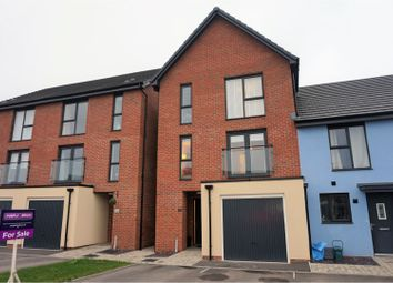 Thumbnail 4 bed town house for sale in Clos Y Rheilffordd, Barry
