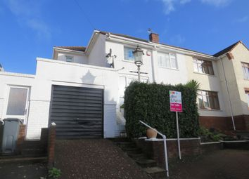 Thumbnail 3 bed semi-detached house for sale in Borrowdale Close, Penylan, Cardiff