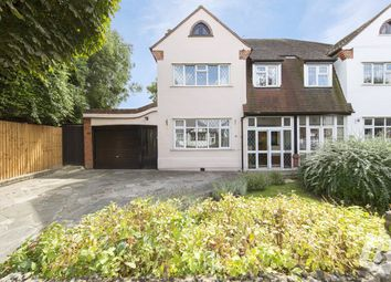 Thumbnail 4 bed semi-detached house for sale in The Avenue, Romford