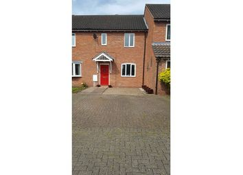Thumbnail 2 bed town house for sale in 16 Crawshaw Close, Long Whatton, Loughborough, Leicestershire