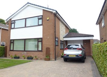 Thumbnail 3 bed detached house for sale in West Paddock, Leyland