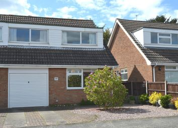 Thumbnail 3 bed semi-detached house for sale in Swallow Walk, Hathern, Loughborough