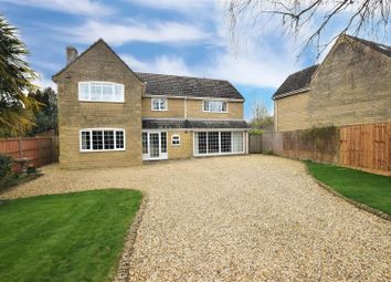 Thumbnail 4 bed detached house for sale in Tyler Close, Edith Weston, Oakham