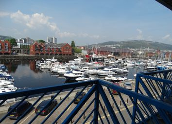 Thumbnail 1 bed flat for sale in Empress House, Trawler Road, Swansea