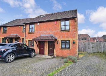 Thumbnail 2 bed semi-detached house for sale in Alex Hughes Close, Snodland, Kent