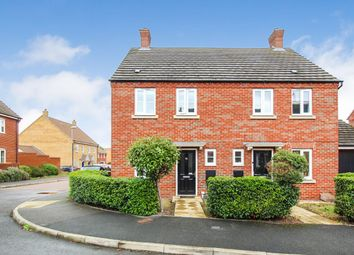Thumbnail 3 bed semi-detached house for sale in Crispin Drive, Bedford