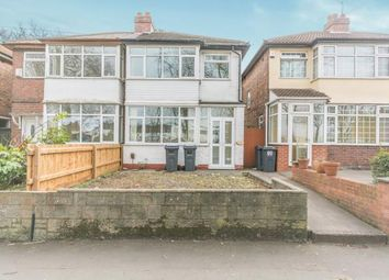 Thumbnail 3 bed semi-detached house for sale in Stockfield Road, Acocks Green, Birmingham, West Midlands