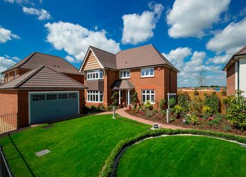 "Thumbnail 4 bed detached house for sale in ""Balmoral"" at Sapphire Road, Swindon"