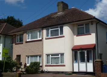 Thumbnail 3 bed semi-detached house to rent in Weston Drive, Stanmore