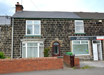 Thumbnail 3 bedroom terraced house for sale in North Wingfield Road, Grassmoor, Chesterfield