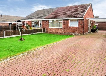 Thumbnail 2 bed semi-detached bungalow for sale in Hallam Road, Uttoxeter