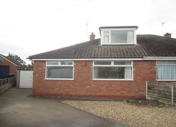 Thumbnail 3 bed bungalow to rent in Westbourne Avenue, Crewe