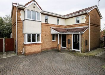 Thumbnail 2 bed semi-detached house for sale in Fossgill Avenue, Bolton