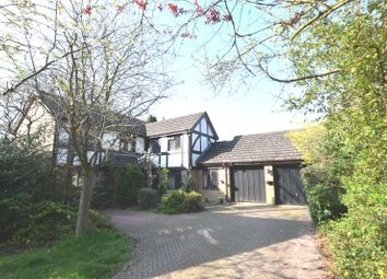 Thumbnail 5 bed detached house for sale in Foxdown Close, Camberley, Surrey