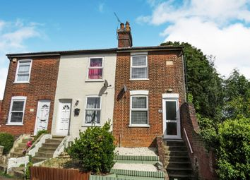 Thumbnail 2 bedroom end terrace house for sale in Bank Road, Ipswich