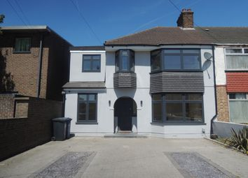 Thumbnail 4 bed semi-detached house to rent in Cloister Road, Acton