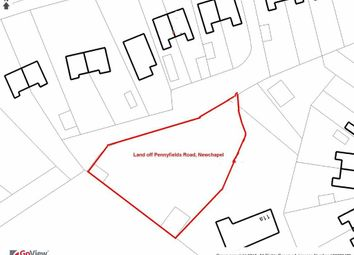 Thumbnail Land for sale in Pennyfields Road, Newchapel, Kidsgrove