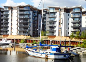 Thumbnail 2 bedroom flat for sale in Watkiss Way, Victoria Wharf, Cardiff