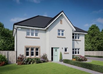 "Thumbnail 4 bedroom detached house for sale in ""The Elliot"" at Dalmahoy Crescent, Balerno"