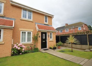 Thumbnail 3 bed semi-detached house for sale in Ashwood Close, Sacriston, Durham