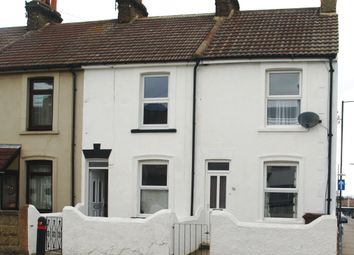Thumbnail 2 bed terraced house to rent in Trafalgar Street, Gilingham