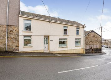Thumbnail 4 bed end terrace house for sale in Commercial Street, Nantymoel, Bridgend