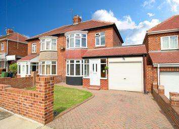 Thumbnail 3 bedroom semi-detached house for sale in Drayton Road, Fulwell, Sunderland