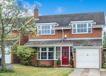 Thumbnail 4 bed detached house for sale in Home Close, Bubbenhall, Coventry