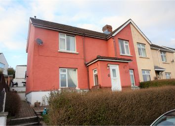 Thumbnail 3 bed semi-detached house for sale in Brynhyfryd Terrace, Machen