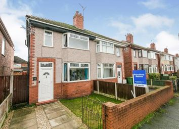 Thumbnail 2 bed semi-detached house for sale in Newton Street, Hightown, Wrexham