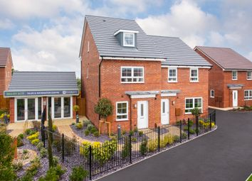 "Thumbnail 4 bed semi-detached house for sale in ""Kingsville"" at Somerset Avenue, Leicester"