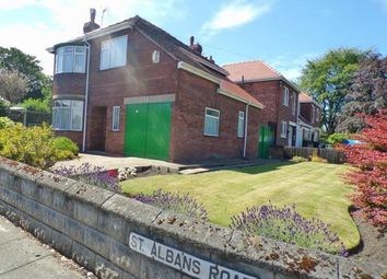 Thumbnail 3 bed detached house for sale in St Albans Road, Prenton, Merseyside