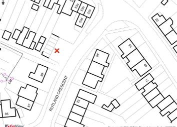 Thumbnail Land for sale in Rutland Crescent, Trowbridge