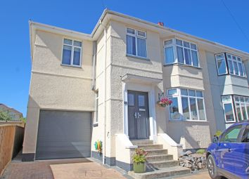 4 bed semi-detached house for sale in Venn Gardens, Hartley, Plymouth PL3
